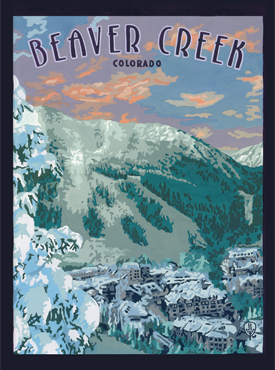 Beaver Creek Art, Beaver Creek Artwork, Beaver Creek Poster, The Bungalow Craft, Bungalow Craft, Julie Leidel, Colorado Art, Colorado Artwork, Colorado Posters, 14er Posters, 14er Art, 14er Artwork, WPA Poster, WPA Art, WPA Artwork, FAP Poster, FAP Art, FAP Artwork, National Park Poster, Vintage Poster, Vintage Poster Art, Arts and Crafts Movement, Arts & Crafts Artwork, Arts & Crafts Art, Arts & Crafts Posters, Bungalow Art, Bungalow Artwork, Bungalow Posters, Craftsman Artwork, Craftsman Posters, Mission Artwork, Ski Posters, Ski Poster Art, Ski Poster Artwork, University Art, University Artwork, University Posters