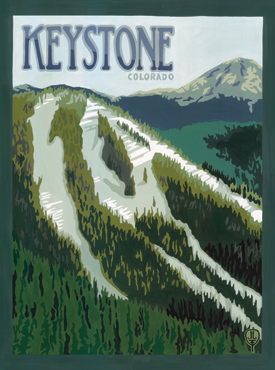Keystone Art, Keystone Artwork Keystone Posters, The Bungalow Craft, Bungalow Craft, Julie Leidel, Colorado Art, Colorado Artwork, Colorado Posters, 14er Posters, 14er Art, 14er Artwork, WPA Poster, WPA Art, WPA Artwork, FAP Poster, FAP Art, FAP Artwork, National Park Poster, Vintage Poster, Vintage Poster Art, Arts and Crafts Movement, Arts & Crafts Artwork, Arts & Crafts Art, Arts & Crafts Posters, Bungalow Art, Bungalow Artwork, Bungalow Posters, Craftsman Artwork, Craftsman Posters, Mission Artwork, Ski Posters, Ski Poster Art, Ski Poster Artwork, University Art, University Artwork, University Posters