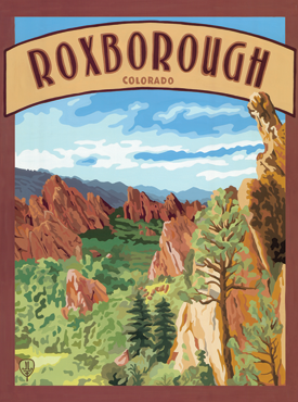 Roxborough Art, Roxborough Artwork, Roxborough Posters, The Bungalow Craft, Bungalow Craft, Julie Leidel, Colorado Art, Colorado Artwork, Colorado Posters, 14er Posters, 14er Art, 14er Artwork, WPA Poster, WPA Art, WPA Artwork, FAP Poster, FAP Art, FAP Artwork, National Park Poster, Vintage Poster, Vintage Poster Art, Arts and Crafts Movement, Arts & Crafts Artwork, Arts & Crafts Art, Arts & Crafts Posters, Bungalow Art, Bungalow Artwork, Bungalow Posters, Craftsman Artwork, Craftsman Posters, Mission Artwork, Ski Posters, Ski Poster Art, Ski Poster Artwork, University Art, University Artwork, University Posters