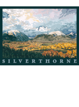 Silverthorne Art, Silverthorne Artwork, Silverthorn Posters, The Bungalow Craft, Bungalow Craft, Julie Leidel, Colorado Art, Colorado Artwork, Colorado Posters, 14er Posters, 14er Art, 14er Artwork, WPA Poster, WPA Art, WPA Artwork, FAP Poster, FAP Art, FAP Artwork, National Park Poster, Vintage Poster, Vintage Poster Art, Arts and Crafts Movement, Arts & Crafts Artwork, Arts & Crafts Art, Arts & Crafts Posters, Bungalow Art, Bungalow Artwork, Bungalow Posters, Craftsman Artwork, Craftsman Posters, Mission Artwork, Ski Posters, Ski Poster Art, Ski Poster Artwork, University Art, University Artwork, University Posters