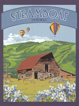 Steamboat Art, Steamboat Artwork, Steamboat Posters, The Bungalow Craft, Bungalow Craft, Julie Leidel, Colorado Art, Colorado Artwork, Colorado Posters, 14er Posters, 14er Art, 14er Artwork, WPA Poster, WPA Art, WPA Artwork, FAP Poster, FAP Art, FAP Artwork, National Park Poster, Vintage Poster, Vintage Poster Art, Arts and Crafts Movement, Arts & Crafts Artwork, Arts & Crafts Art, Arts & Crafts Posters, Bungalow Art, Bungalow Artwork, Bungalow Posters, Craftsman Artwork, Craftsman Posters, Mission Artwork, Ski Posters, Ski Poster Art, Ski Poster Artwork, University Art, University Artwork, University Posters