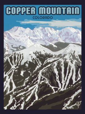 Copper Mountain Art, Copper Mountain Artwork, Copper Mountain Posters