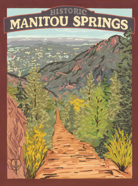 Manitou Springs Art, Manitou Springs Artwork, Manitou Springs Poster, The Bungalow Craft, Bungalow Craft, Julie Leidel, Colorado Art, Colorado Artwork, Colorado Posters, 14er Posters, 14er Art, 14er Artwork, WPA Poster, WPA Art, WPA Artwork, FAP Poster, FAP Art, FAP Artwork, National Park Poster, Vintage Poster, Vintage Poster Art, Arts and Crafts Movement, Arts & Crafts Artwork, Arts & Crafts Art, Arts & Crafts Posters, Bungalow Art, Bungalow Artwork, Bungalow Posters, Craftsman Artwork, Craftsman Posters, Mission Artwork, Ski Posters, Ski Poster Art, Ski Poster Artwork, University Art, University Artwork, University Posters