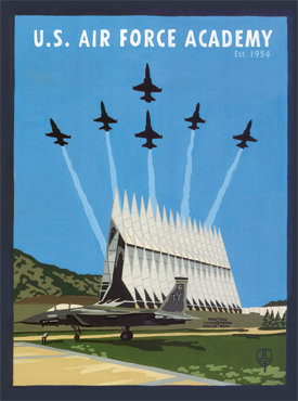 Air Force Art, Air Force Artwork, Air Force Posters, USAFA Art, USAFA Artwork, USAFA Poster, The Bungalow Craft, Bungalow Craft, Julie Leidel, Colorado Art, Colorado Artwork, Colorado Posters, 14er Posters, 14er Art, 14er Artwork, WPA Poster, WPA Art, WPA Artwork, FAP Poster, FAP Art, FAP Artwork, National Park Poster, Vintage Poster, Vintage Poster Art, Arts and Crafts Movement, Arts & Crafts Artwork, Arts & Crafts Art, Arts & Crafts Posters, Bungalow Art, Bungalow Artwork, Bungalow Posters, Craftsman Artwork, Craftsman Posters, Mission Artwork, Ski Posters, Ski Poster Art, Ski Poster Artwork, University Art, University Artwork, University Posters